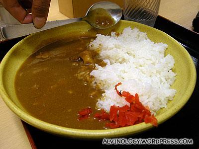 Rachels curry rice