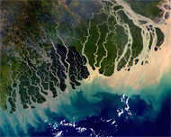 bangladesh from space