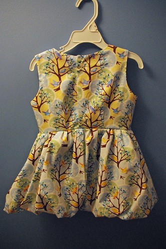 ana's birdie dress