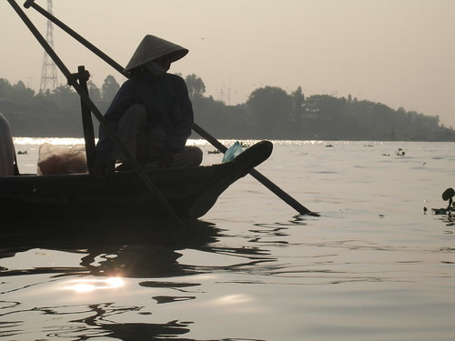 The Mekong River in the morning (1)