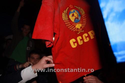 FOTO Miting la Bucuresti pentru sustinerea protestatarilor de la Chisinau 61