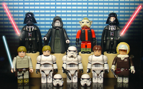 Star Wars Kubrick Series 4 Top row