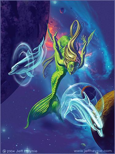 Space Mermaid by Jeff Haynie