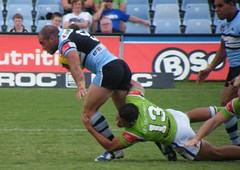 LANCEN JOUDO (NAPARAZZI) Tags: rugby league cronulla lancen joudo
