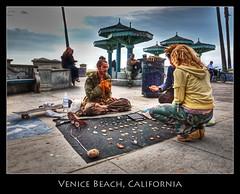 Venice Beach, California (szeke) Tags: california street city venice urban beach losangeles processing venicebeach hdr streetvendor photomatix flickrsbest abigfave imagenomic
