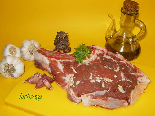 chuleta de ternera gallega-ingredientes