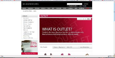 Debenhams Outlet
