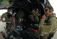 Kevlar...check...M-4 Carbine...check...Teddy Bear...check (mizuumi21) Tags: afghanistan war pj airforce combat surge obama afg pavehawk bagram pararescue hh60g