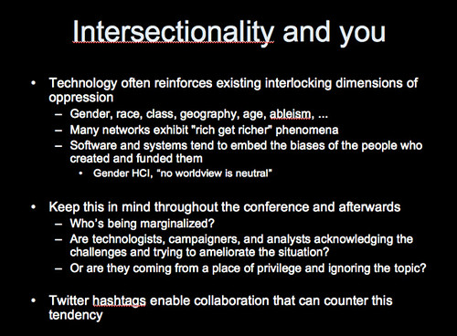 Intersectionality and you