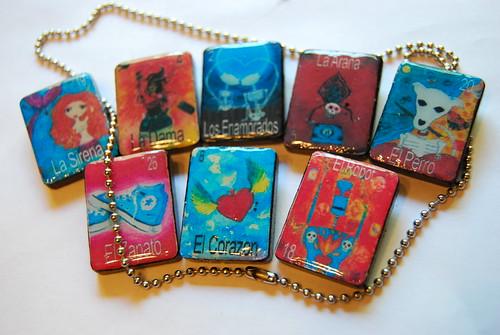 Loteria pendants