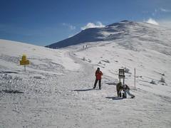 Skipiste in Bad Kleinkirchheim