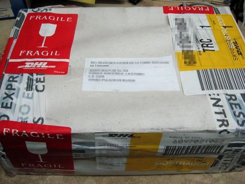 El paquete misterioso