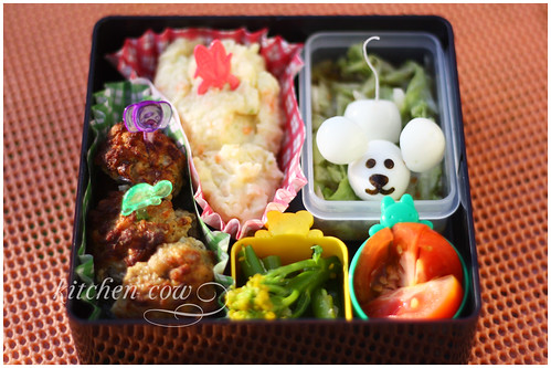 Mouse invades bento again...