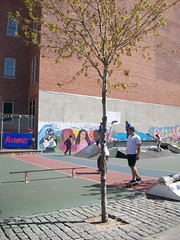 100_3461 (Mindsay Mohan) Tags: boy girl train landscape skateboarding metro board skating north skaters skatepark skateboard skater metronorth