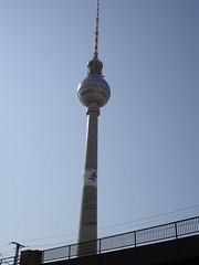 Berliner Fernsehturm (msflic) Tags: berlin april 2009 deutschetelekom invitedby