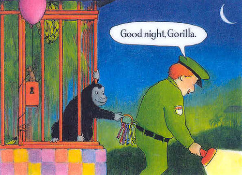 Top 100 Picture Books #40: Good Night, Gorilla by Peggy Rathmann