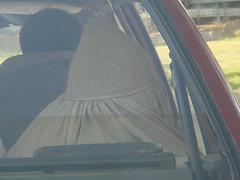 shuttle cock (tango 48) Tags: pakistan red car cock shuttle shuttlecock islamabad burka
