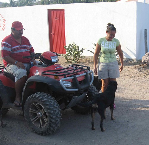Luis, Nena and their dogs