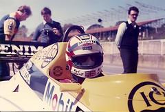 Nigel Mansell (Brother G) Tags: honda one 1 williams quality f1 hatch pixels mansell nigel brands forumla fw10