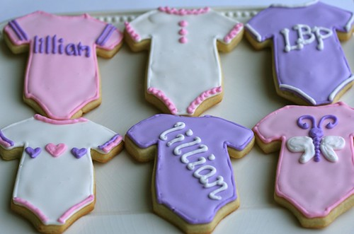 Onesie Sugar Cookies