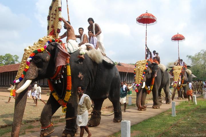 thrissur pooram - Poorams at Vadakkunnathan