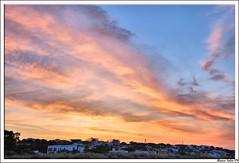 Cielo rojizo hdr ( Marco Antonio Soler ) Tags: espaa costa luz de la spain huelva andalucia amanecer cielo nubes jpg hdr mazagon rojizo d80 blinkagain