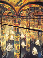 Dormition Cathedral Interior, Moscow Kremlin