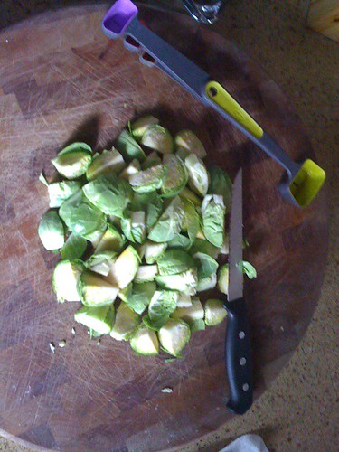 Jason Rubacky brussels sprouts