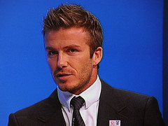 David Beckham backs World Cup bid