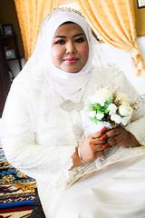 Puan Zehan Dan Suaminya (Nikah) (Sham Hardy) Tags: hijab malaysia sham pengantin melayu malay hardy sanding portdickson kahwin perkahwinan nikah negerisembilan
