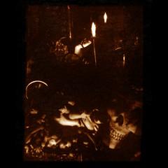 dellamorte dellamore (B.S. Wise) Tags: blur art texture sepia photography skull mirror photo doll candle gothic goth eerie spooky mementomori hades darkart bradwise bradswise horrorhospital frombeyond godsmonsters darkthoughts chaosinthesoul sepialovers darkestdreaming monstersoftheid emotionintheinanimate asleepinthegardenofthealchemist sepiaimpressions eeepycreepy 2bdasest bswise uncannyvillage guaiopen orpheusisasnapshot myheartprofoundlyflutteredmysoulseyegrewclear thespookatorium menageriegothicstatementspost1give1seenin artdirectionbyvioletblue everythingsepiatodosepia shardsoflightonadarksill thefearfactor