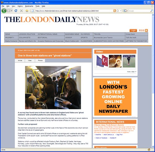 London Daily News nicked one of my photos