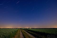 (Andreas Reinhold) Tags: road longexposure night dark stars country bergischesland startrails mettmann andreasreinhold