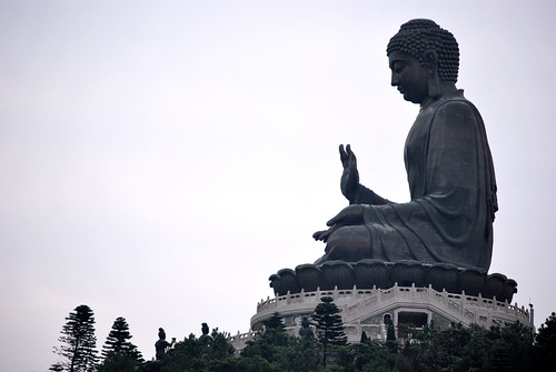 Giant Buddha at Po Lin Monastery