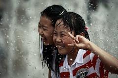 Cool Shot (DSLR_MANIA) Tags: city water fountain children fun eos hall child play cityhall korea seoul squirt southkorea waterplay  ef200mmf28liiusm cityhallsquare canonef200mmf28liiusm eos1dmark3 canon1dmark3 dslrmania canon1deos1d