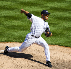 Mariano Rivera 2 (Michael G. Baron) Tags: new york city sports tampa bay major baseball cone stadium rays yankee yankees arod posada league rodriguez jeter upton garza joba longoria girardi