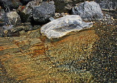 Jewels of the Samaria Gorge (HisGlitteringEye) Tags: rock river pebbles crete geology sanmariagorge hisglitteringeye