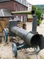 Chaudière de la machine à vapeur Merlin