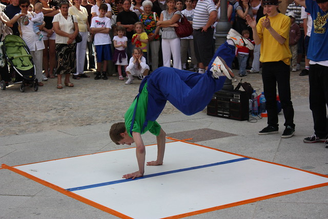 Street Dancing at Rynek