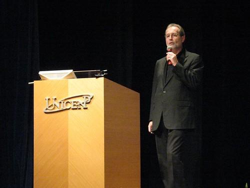 Walter Longo em palestra - Curitiba