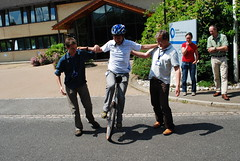 National Bike Week 2009 - Unicycling