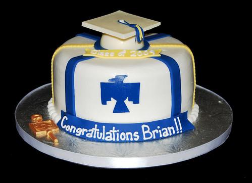 Thunderbird Graduation Cake