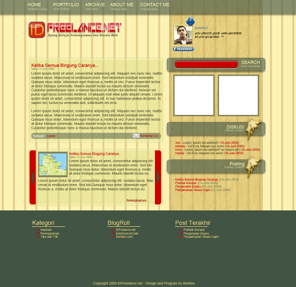 3642060175 2838dab4bf o Download : Contoh Desain Theme IDFreelance.net