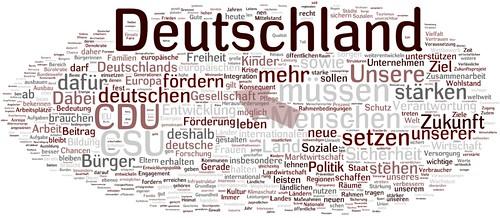 Wahlprogramm der CDU für Bundestagswahl 2009