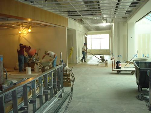 Terrazzo Floor Installation
