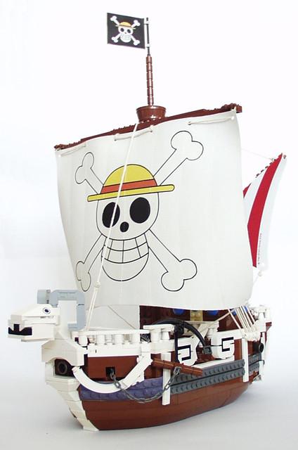 robin one chopper lego manga going vogue merry piece pipo nico zorro luffy nami usopp ゴーイング・メリー号