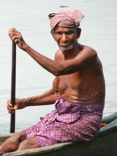 Old Man River:  Kerala India