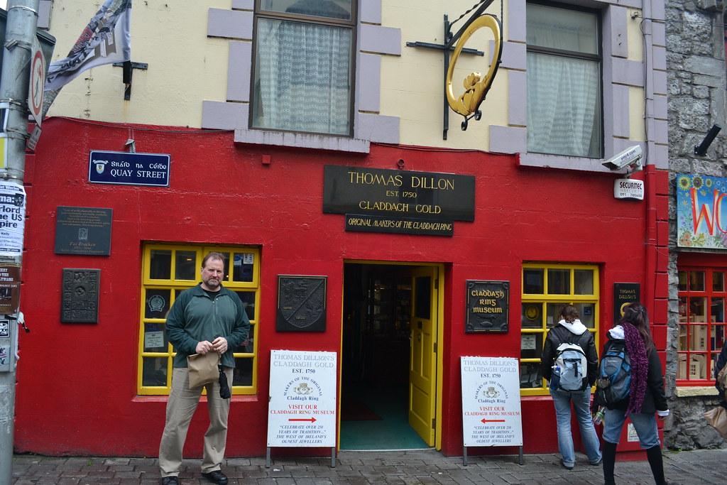 Thomas Dillon's Claddagh Gold