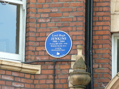 Photo of Hugh Jenkins blue plaque