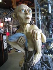 Gollum im Weta Cave (Walter Rafelsberger) Tags: wellington gollum cave weta neuseeland weltreise walterkaro